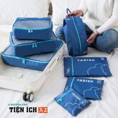Bộ combo 7 túi du lịch tiện ích đựng đồ cá nhân – TDN20