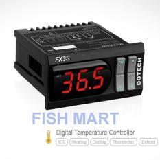 Bộ điều khiển nhiệt độ Dotech FX3S dùng kiểm soát thiết bị sưởi và nhiệt cho bể cá BH 12 tháng ( Đen)