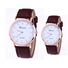 Bộ đôi Đồng hồ nữ platrium thời trang tuyệt đẹp ( nâu )