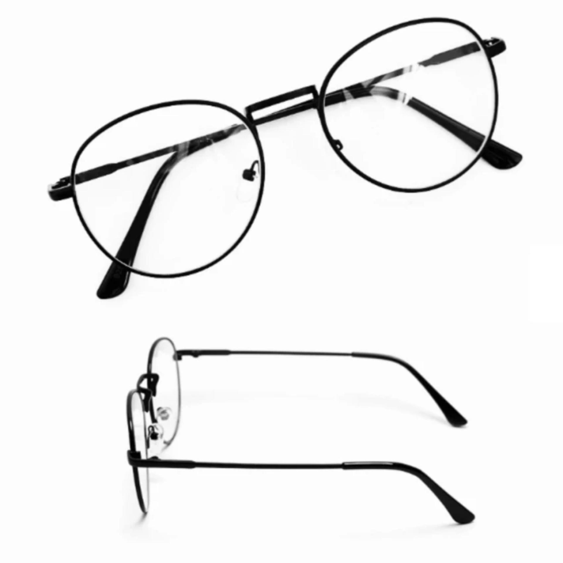 Giá bán Bộ đôi mắt kính ngố thời trang cao cấp PGH-01 (đen)