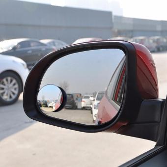 Bộ hai gương cầu lồi dán kính chiếu hậu cho xe hơi