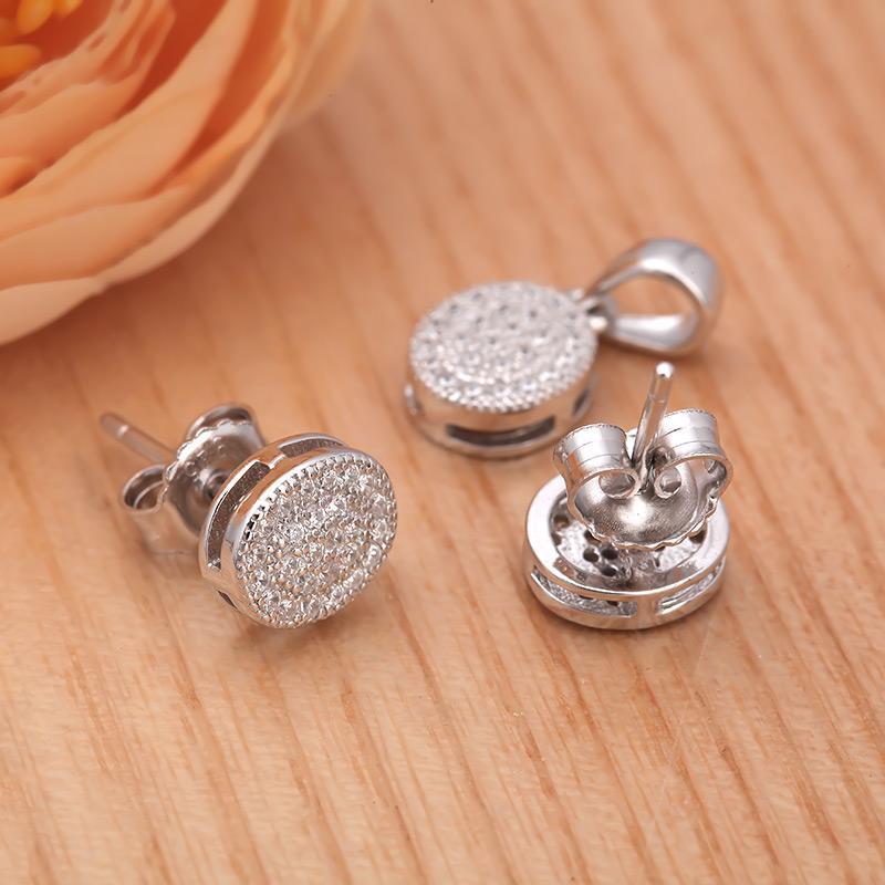 Bộ trang sức bạc Jhin Love   Eropi