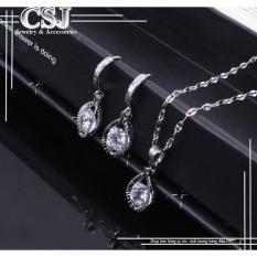 Bộ trang sức inox cao cấp mẫu CB023