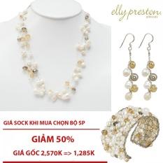 Bộ trang sức Ngọc Trai Elly Preston USA(Ivory)