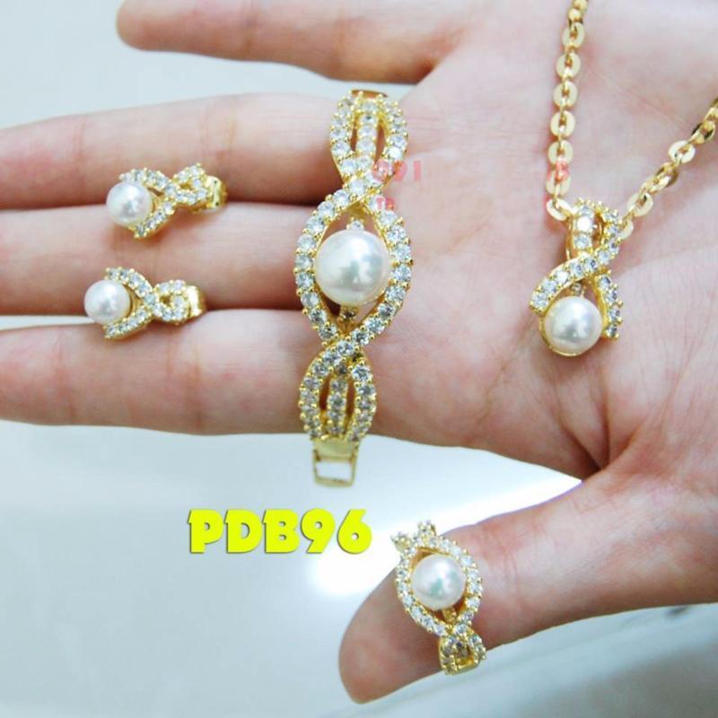 Bộ Trang Sức Nữ Xi Vàng 18k _ 030620