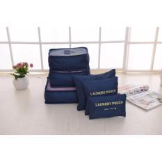 Bộ túi đa năng giúp chia hành lý du lịch – Chodeal24h.vn (Xanh đậm)
