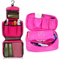 Bộ túi đựng đồ cá nhân du lịch và túi đựng đồ lót du lịch (Hồng)