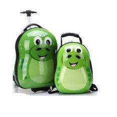Giá bán Bộ vali kéo và ba lô rắn xanh Cuties
