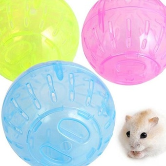 BODHI Jogging Exercise Small Plastic Ball Play Toy for Gerbil RatHamster Pet Rodent - intl