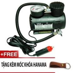 Bơm điện 12v cho lốp xe hơi ô tô chuyên dụng DA1611 (Đen)