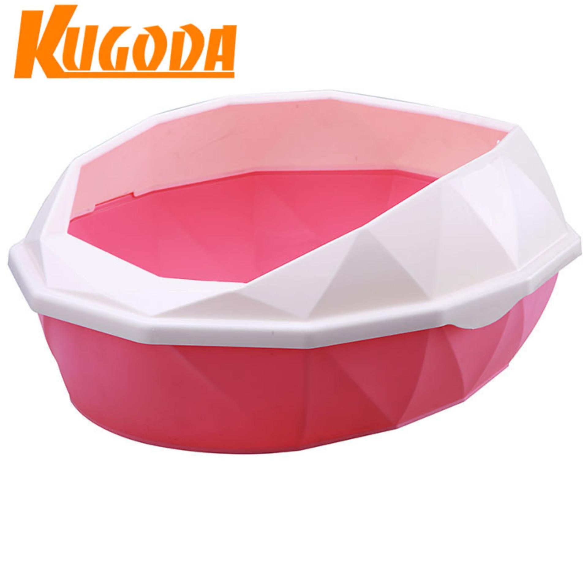 Giảm giá Bồn vệ sinh Kugoda cho mèo – nhiều màu sắc