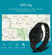 Bounabay Bluetooth Thương Hiệu Vòng Tay Thông Minh Đo Nhịp Tim Dây Đo Sức Đi Bộ Theo Dõi cho Android iOS-quốc tế