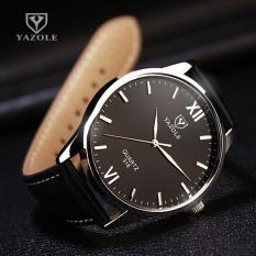Bounabay Brand Watch 318 Fashion Casual men's high-grade genuine waterproof leather ultra-thin quartz watch – intl