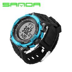 Bounabay Brand Watch 341 Luxury Men Sports Watches Digital LED Quartz Wristwatches Rubber Strap G Military Shock Watch relogio masculino – intl