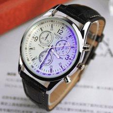 Bounabay Cheap Luminous Sports Waterproof Quartz Wristwatches Leisure Fashion Business Men Watch – intl
