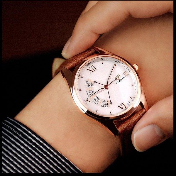 Nơi nào bán Bounabay New Watch Three Seconds Needle Male Luxury Brands High-end Fashion Elite Business Quartz Men Watches – intl