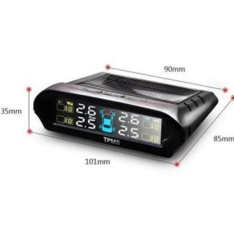 Cảm Biến Áp Suất Lốp Xe Hơi dùng năng lượng mặt trời hoặc nguồn xehơi TPMS900