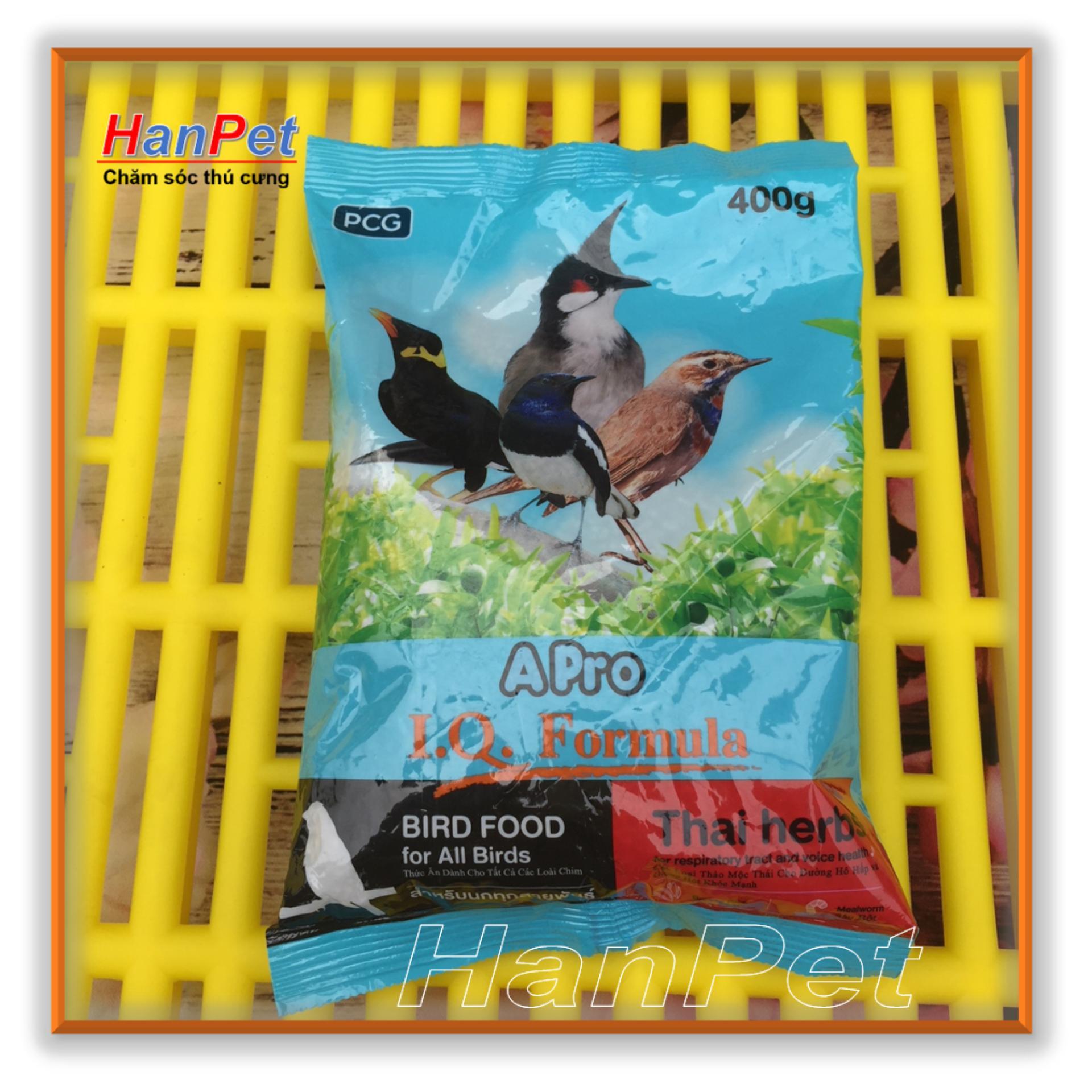 Giảm giá Cám chim Thái Lan APRO – Thức ăn cao cấp dành cho tất cả các loại chim cảnh ( hanpet 237)