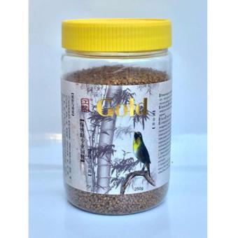 Cám chim vành khuyên Tú Gold Hộp Lắp vàng - 250 gram