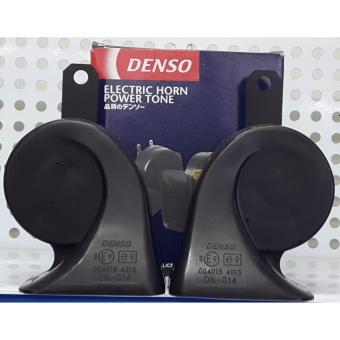 Cặp Còi Sên 12V DENSO JAPAN + Tặng 4 Chân (Jack) Cắm Kèn (Loại Tốt) - Made in Indonesia.