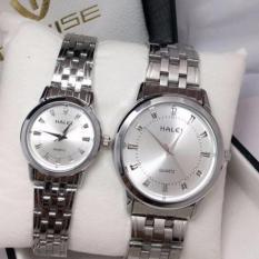 Cặp Đồng hồ Halei nam nữ cao cấp chống xước, chống nước tuyệt đối (Giá 1 đôi)