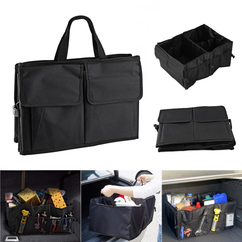 car interior back trunk folding storage box multi use organizer portable gi 222 000. Black Bedroom Furniture Sets. Home Design Ideas
