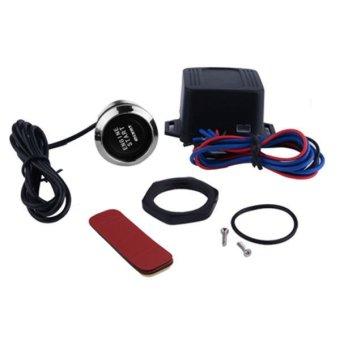 Car Vehicle Push Start Button Engine Starter (Black) - Intl