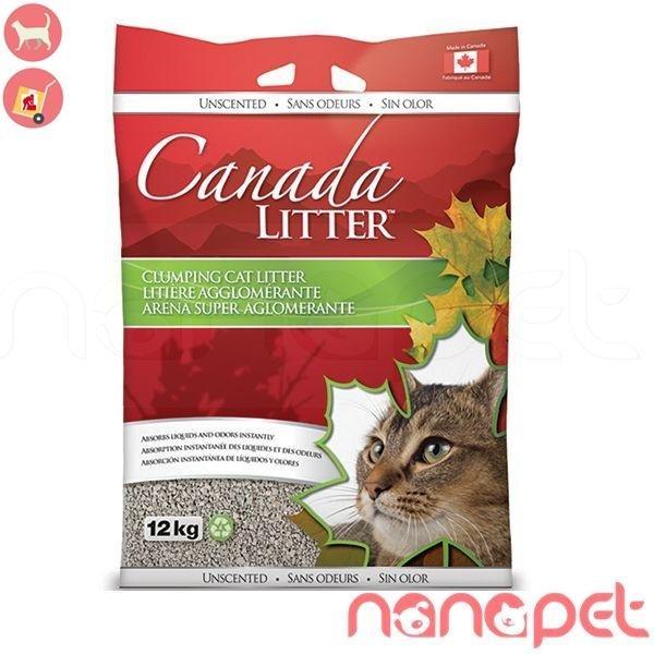 Giảm giá Cát Vệ Sinh Cho Mèo Canada Litter Túi 12kg