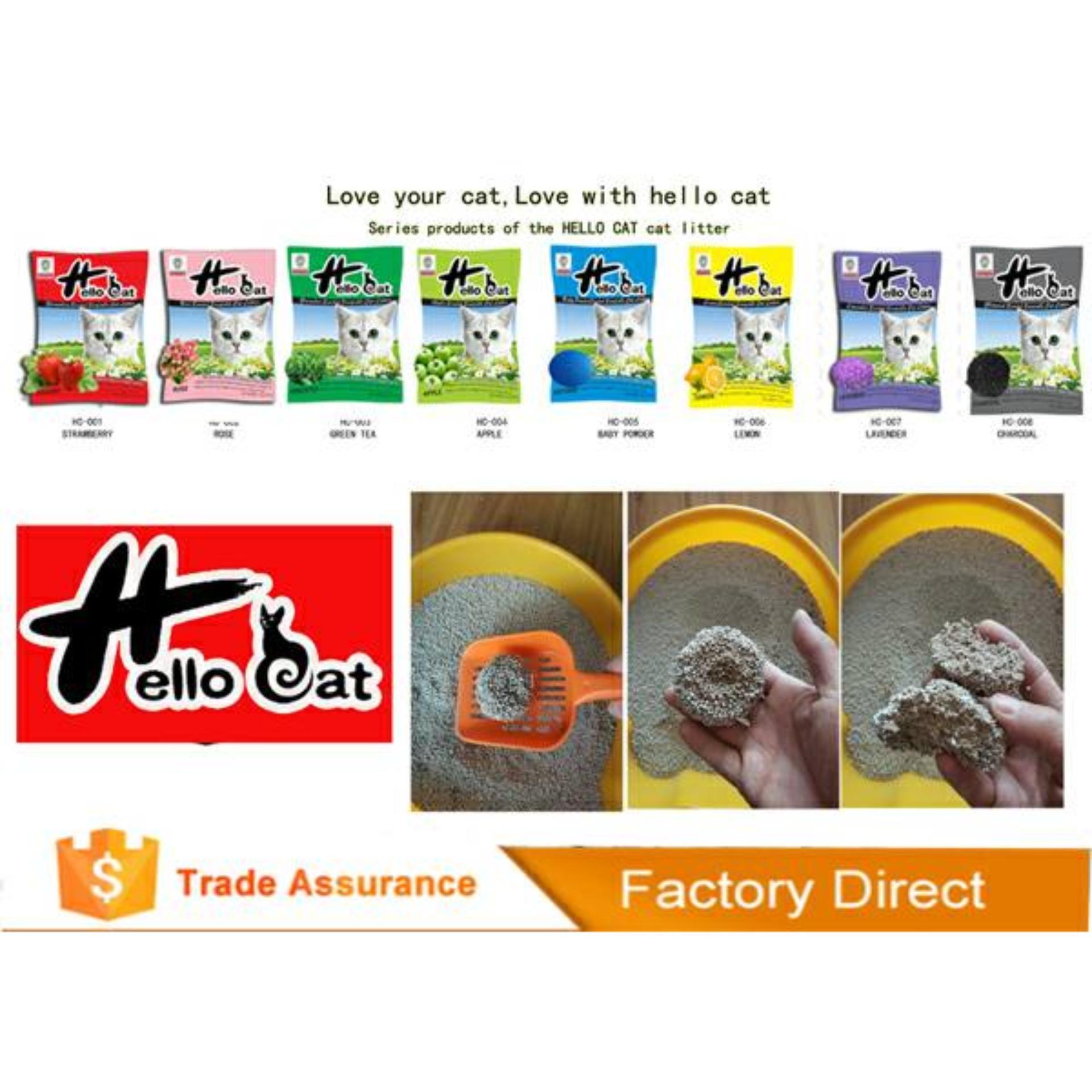 cát vệ sinh cho mèo Hello Cat gói 10 lít