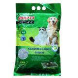Cát vệ sinh khử mùi cho mèo, chính hãng Sunpet, loại - 5 lít ) (hanpet 328b)