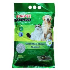 Cát vệ sinh khử mùi cho mèo Sunpet, loại – 5 lít ) (hanpet 328b)