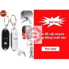 Cửa hàng bán Móc treo chìa khóa phát ra tiếng giúp tìm đồ vật chỉ bằng một tiếng huýt sáo