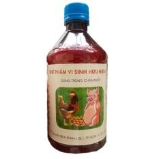 Chế phẩm vi sinh hữu hiệu E.M dùng trong chăn nuôi, xử lý chất thải và khử mùi hôi
