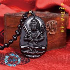Giá bán Chuỗi hạt đeo cổ phật Hư Không Tạng Bồ Tát cao cấp – Phật bản mệnh người tuổi Sửu, Dần