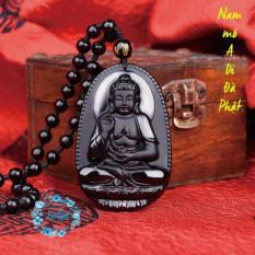 Chuỗi hạt đeo cổ Phật A Di Đà cao cấp – Phật bản mệnh người tuổi Tuất, Hợi
