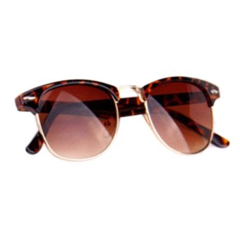 Classic Vintage Sunglasses Black+Brown