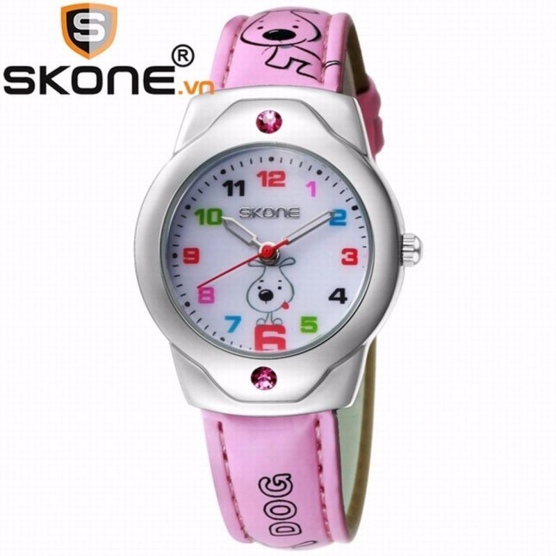 Combo 02 đồng hồ bé gái SKONE - dây da 3149-3 bán chạy