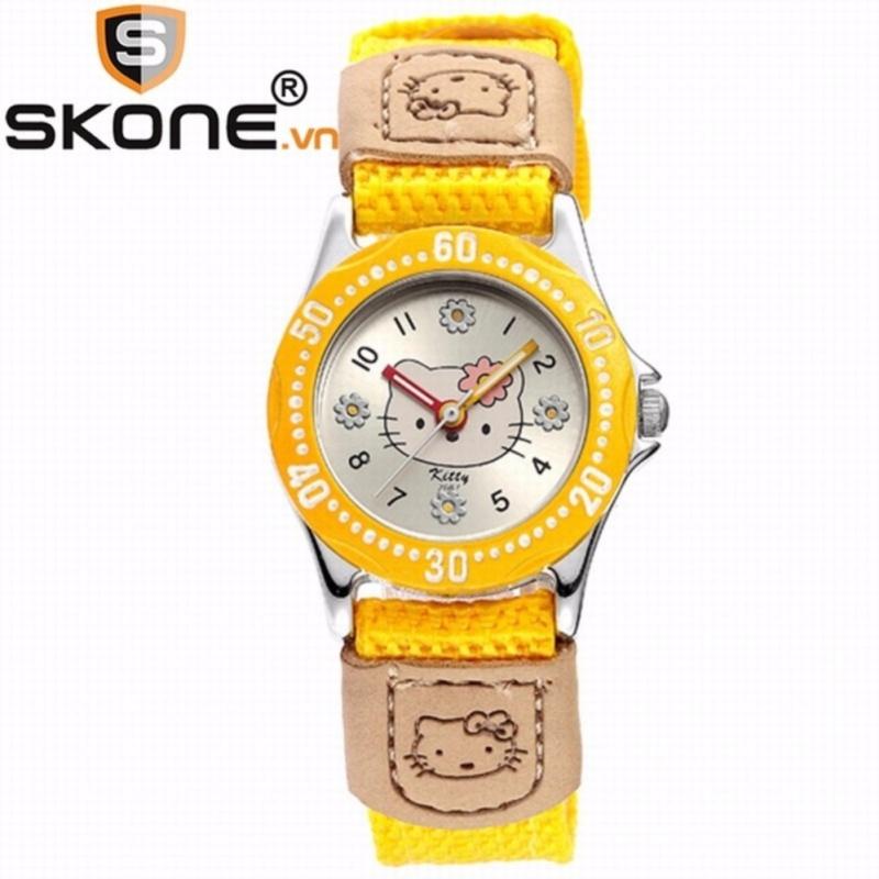 Combo 02 đồng hồ bé gái SKONE - dây dù 2667-2-A bán chạy
