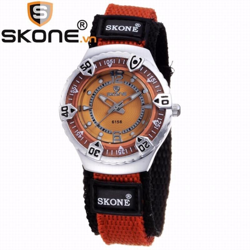 Combo 02 đồng hồ bé gái SKONE - dây dù 6156-lady-7 bán chạy