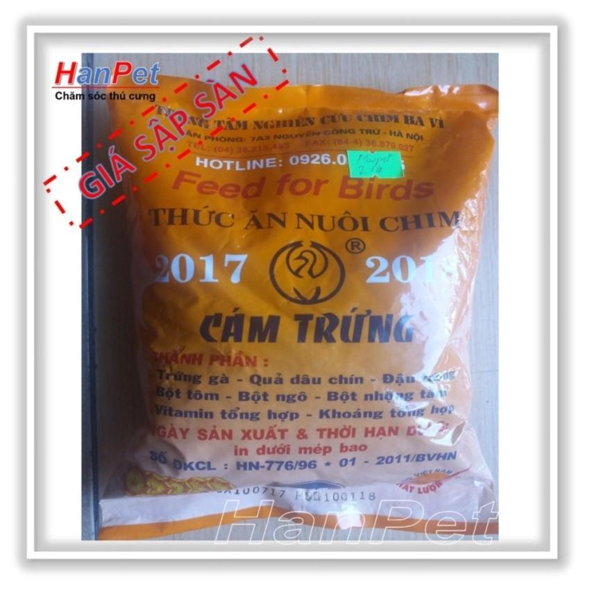 Giá bán Combo 3 gói Thức ăn cho chim(Cám trứng BAVI – 500gr) (sunzin hn 214)