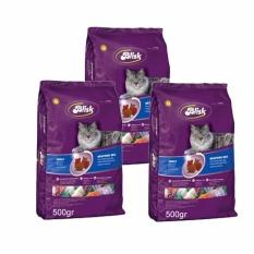 Chỗ nào bán Combo 3 Gói Thức Ăn Mèo BABALI Blisk Gói 500gr