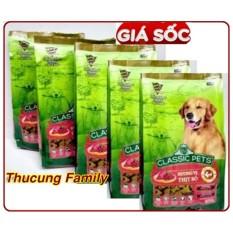COMBO 5 túi thức ăn hạt Classic Pets Adult 400gr