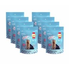 Combo 8 Bánh snack giúp long và da khỏe mạnh dành cho chó 100g