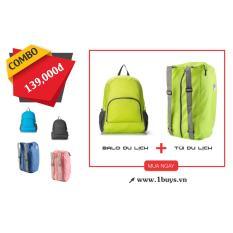 Bảng Giá Combo balo và túi du lịch đa năng