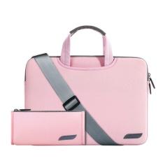 Combo Túi laptop đeo vai + túi phụ kiện Breath Simplicity sleeves 13.3″