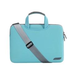 Combo Túi laptop đeo vai + túi phụ kiện Breath Simplicity sleeves 15.4″