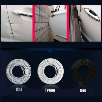 Cuộn dán viền cửa giảm chấn và chống ồn (Đen)