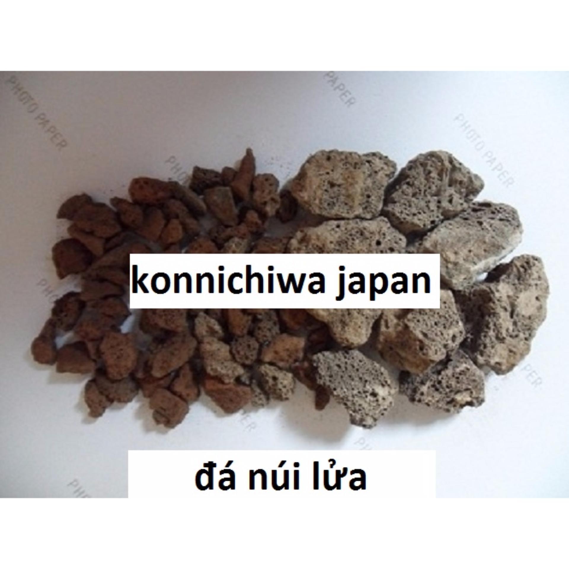 Cửa hàng bán Đá nham thạch (scoria stone) 1×1.5cm 1kg