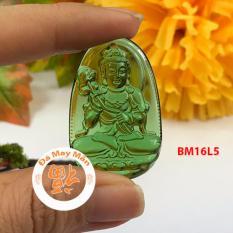 Mặt Dây Chuyền Phật Bản Mệnh Đại Thế Chí Bồ Tát Lưu Ly Xanh Lá Nhỏ