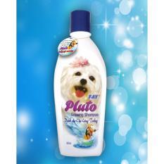 Dầu tắm cho chó lông trắng